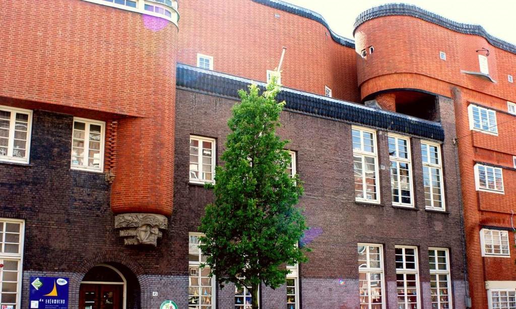 Архитектурный стиль Амстердамской школы
