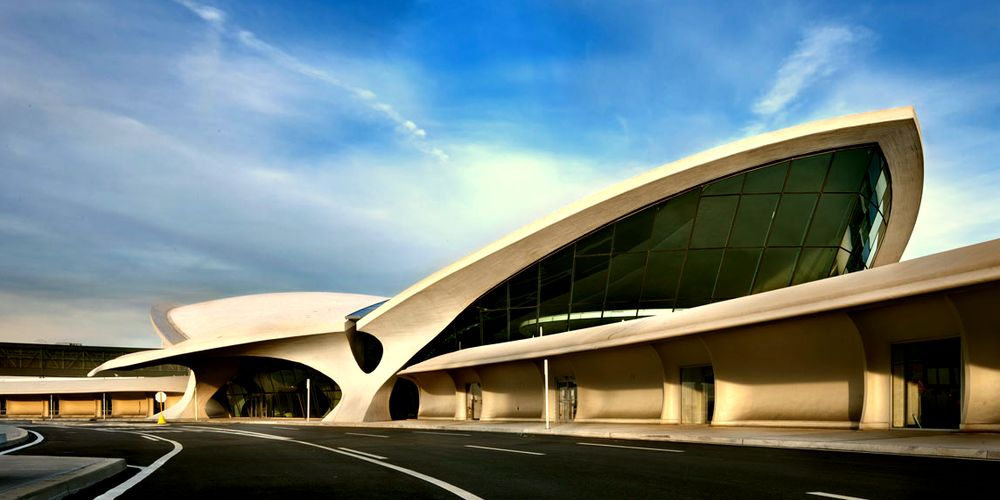 Здание в архитектурном стиле экспрессионизма