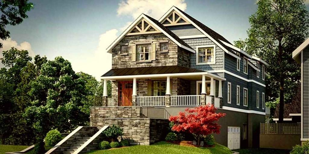 Дом в стиле крафтсмен