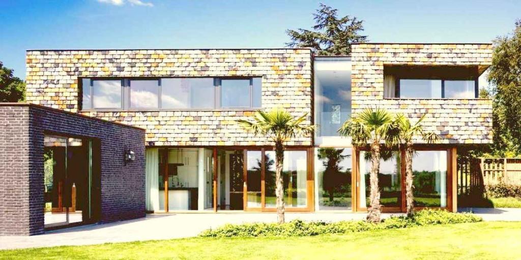 Пример жилого дома в стиле минимализма
