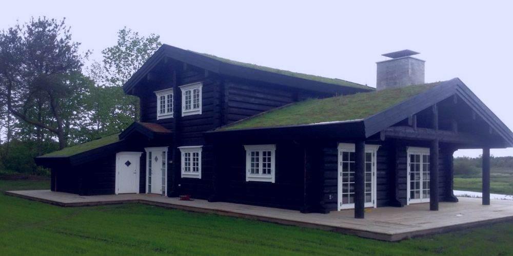 Современный дом в норвежском стиле