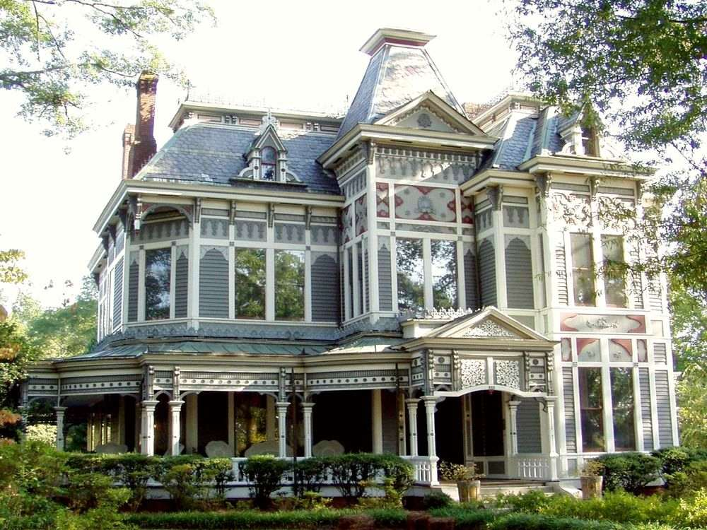 Дом в стиле стик