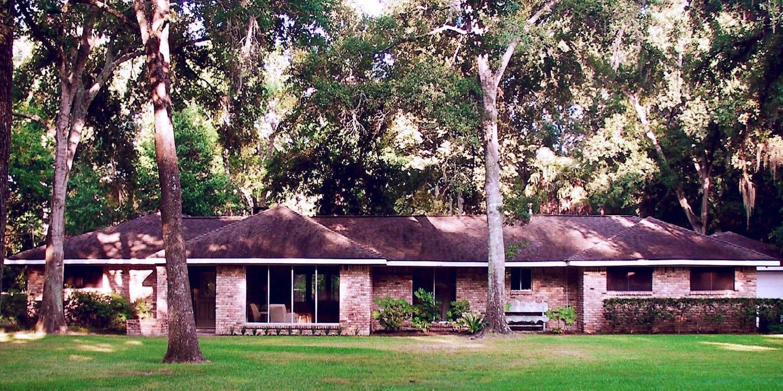 Жилой дом в стиле ранчо