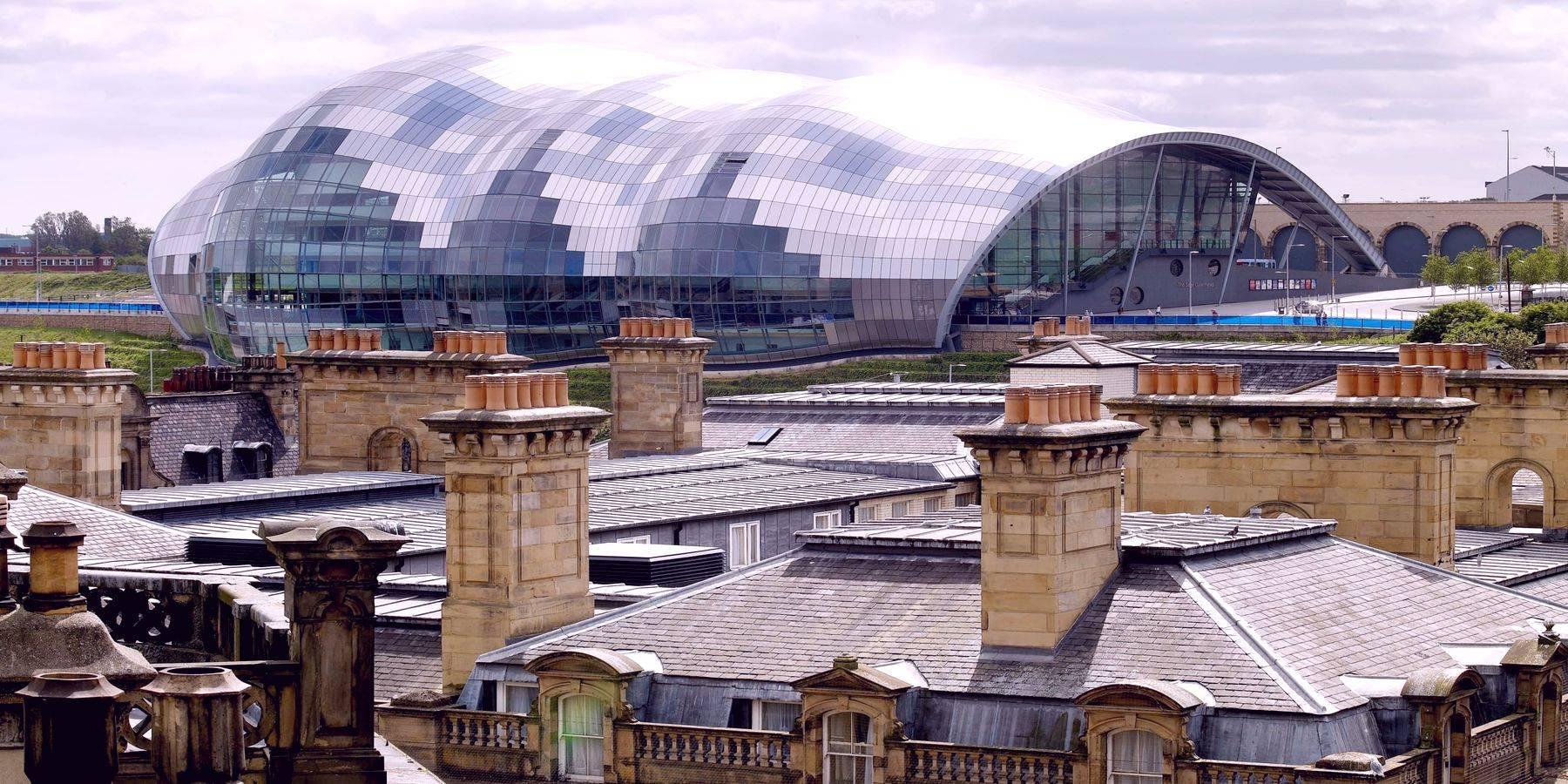 Концертный зал Sage Gateshead - пример архитектурного стиля блобизм