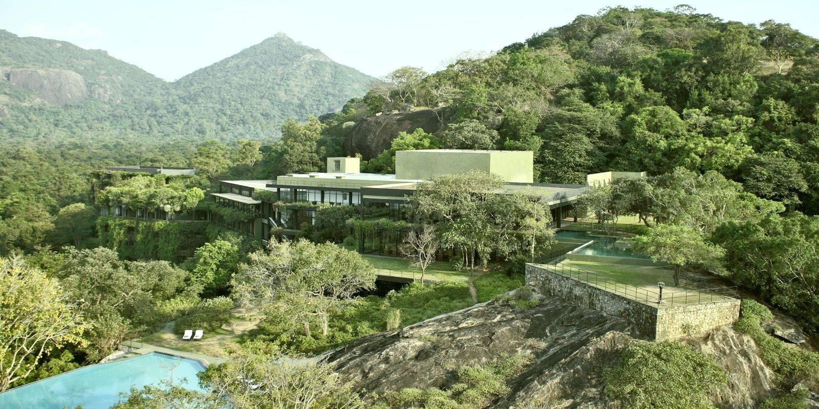 Пример концепции критического регионализма - отель Кандалама на Шри-Ланке